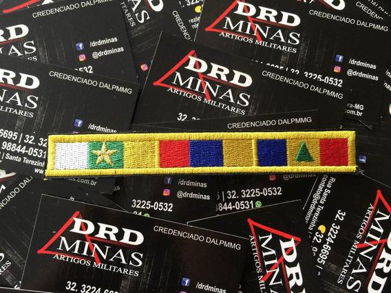 Medalha Bordada 10 Anos/mérito Profissional/alferes
