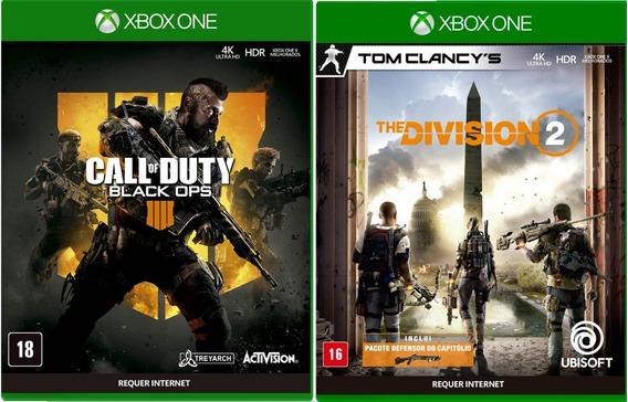 Call Of Duty Black Ops 4 + Tom Clancy Div. 2 Xbox One Física