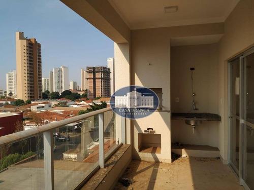 Apartamento Com 3 Dormitórios, 98 M² - Venda Por R$ 525.000,00 Ou Aluguel Por R$ 2.000,00/mês - Higienópolis - Araçatuba/sp - Ap1104