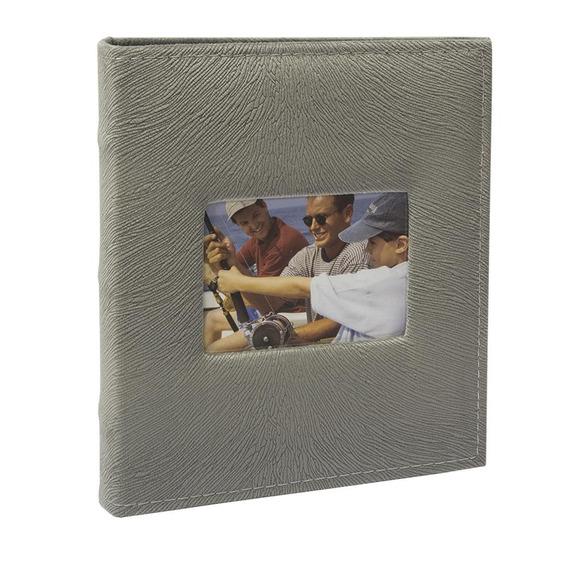 Álbum De Fotos 400f 10x15 Clássico Tecido C/janela 526 Ical