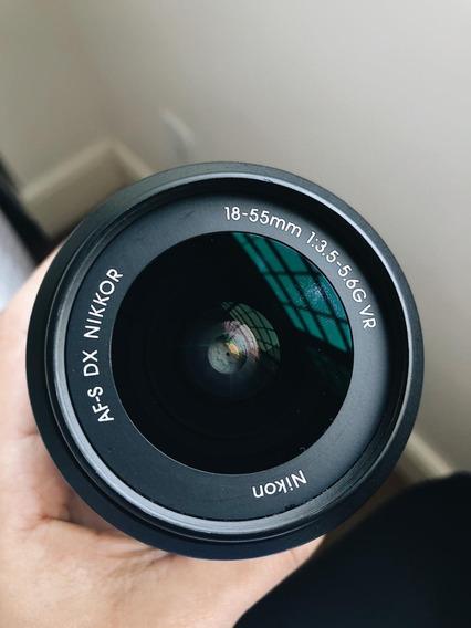Lente Nikon Af-s Dx 18-55mm F/3.5-5.6 G Vr