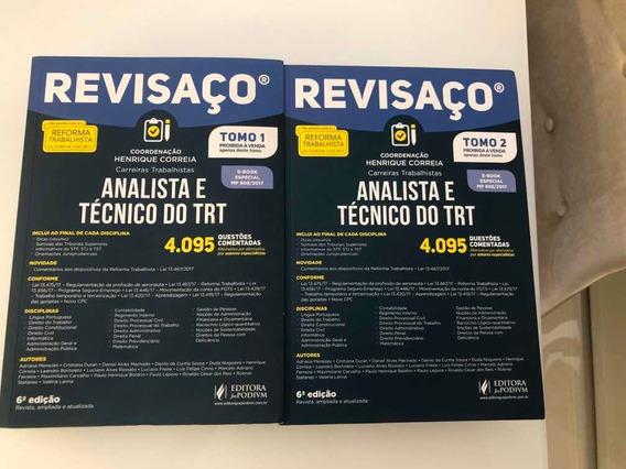 Analista E Tecnico Do Trt - Revisaco - Juspodivm Tomo 1 E 2