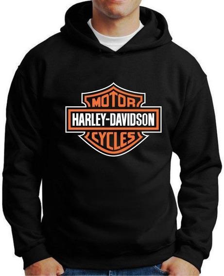 Moletom Harley Davidson - Tamanhos Especiais Cores