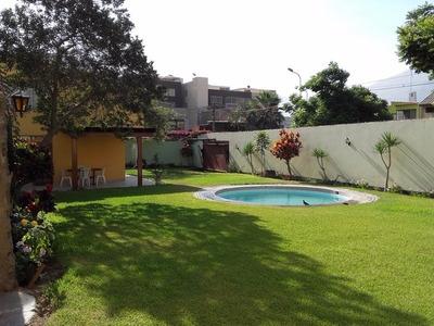 Alquiler De Casa De Campo En Chaclacayo