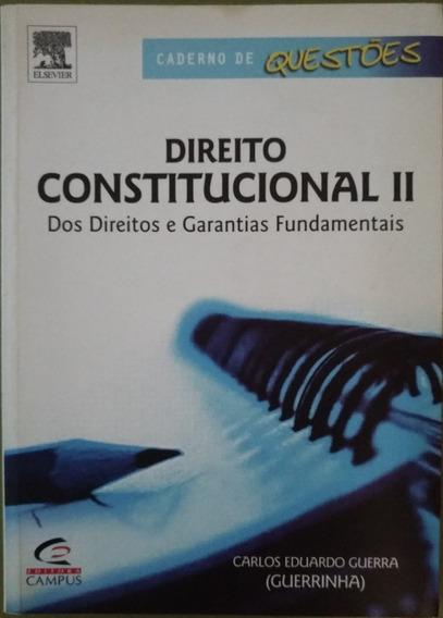 Direito Constitucional I I - Caderno De Questões.