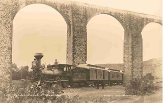 Lienzo Tela Fotografía Acueducto Querétaro 1900 50 X 78 Cm