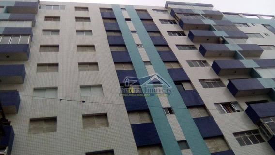 Maravilhoso Apartamento C/ 3 Dormitorios Na Guilhermina Em Excelente Localização A 50m Do Mar - Ap3152
