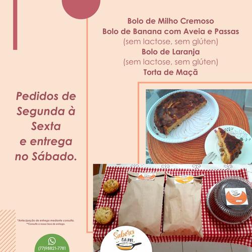 Sabores Da Pri (temperos, Pães, Bolos S/ Glúten E S/ Lactose