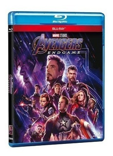 Avengers Endgame - Blu-ray 2 Discos En Stock!