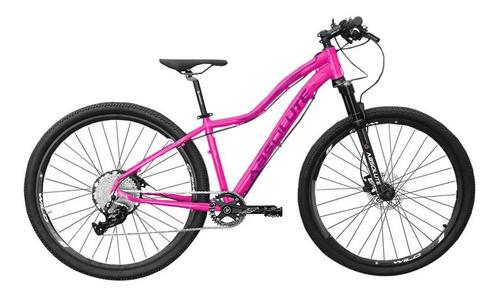 Imagem 1 de 3 de Bicicleta Feminina 12v Absolute Hera 29 Rosa Trava No Guidão