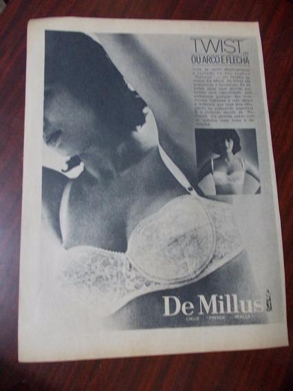 Propaganda Antiga - De Millus.twist Ou Arco E Flecha