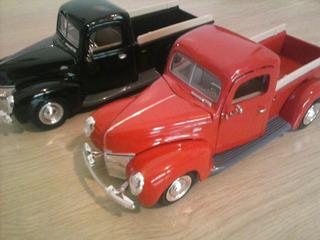 Ford Pick-up Miniatura 1:24,ano 1940