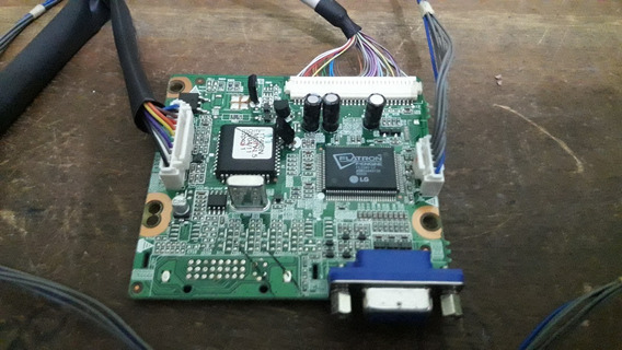 Placa Video Monitor Lg Lx40 6870t971a64 C/ Cabos (1751)
