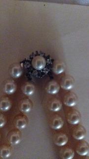 Se Vende 2 Collares De Perlas Majoricas Originales