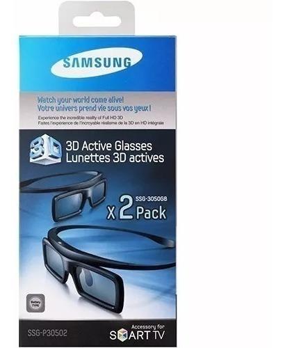 Óculos Samsung 3d Ativo Ssg-3050gb + Blu Ray 3d Coral Reef