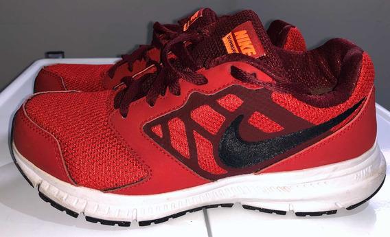 Zapatillas Nike Downshifter Rojas Número 35,5 Impecables