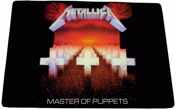 Mouse Pad Gamer Metallica Master Of Puppets - 25x35cm