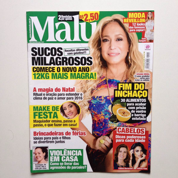 Revista Malu Susana Vieira Juliana Paes Ano 2015