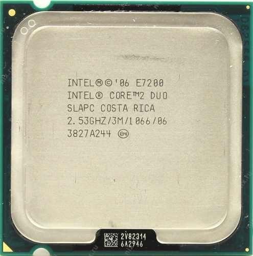 Processador Intel Core 2 Duo E7200 2.53ghz Lga 775 Fsb1066