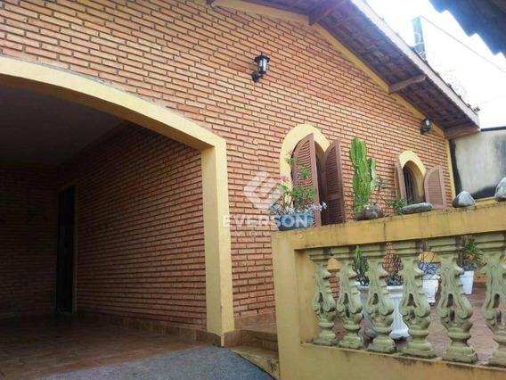 Casa Residencial À Venda, Vila Paulista, Rio Claro. - Ca0825