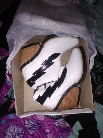 Zapato Texana Blanco