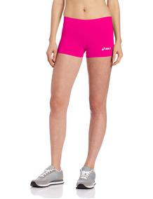 Asics Low Cut Short Voleibol Pink Dama 2xs