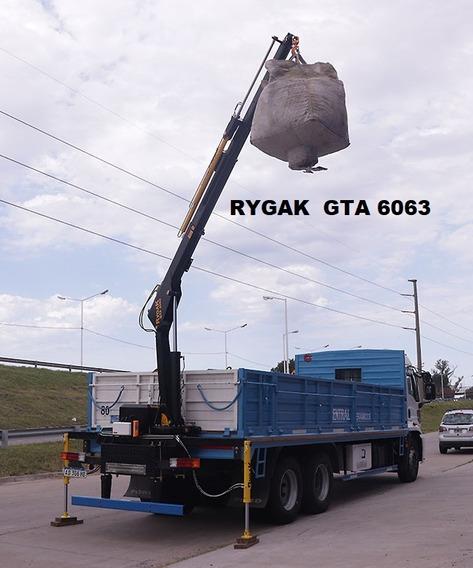 Hidrogrua Electro Hidráulica Para Carga Y Descarga C. Remoto