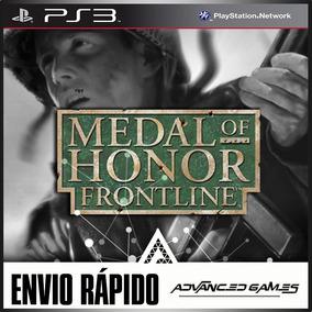 Medal Of Honor Frontline - Clássico De Ps2 - Jogos Ps3 Psn