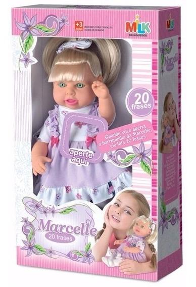 Boneca Bebê Milkinha Menina Fala 20 Frases