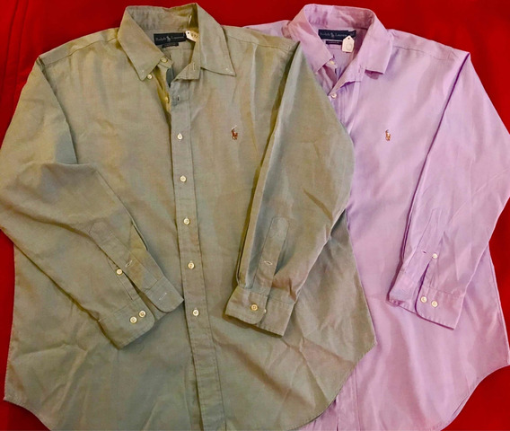 Lote 2 Camisas Polo Ralph Lauren Originales Talla L