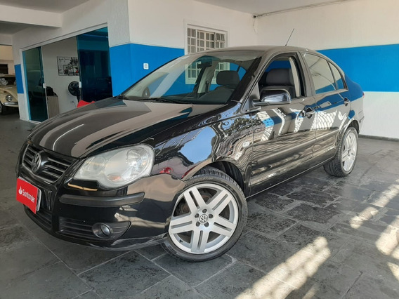 Vw Polo Sedan 1.6 Flex Completo 2007 Preto