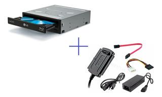 Grabador/lector Blu-ray Lg Externo/interno + Kit Conexión