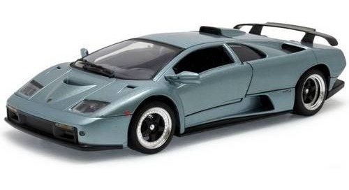 Lamborghini Diablo Gt - Azul Aço- Escala 1:18 - Motormax
