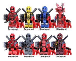Lego Tipo Super Héroes Deadpool Envío Gratis