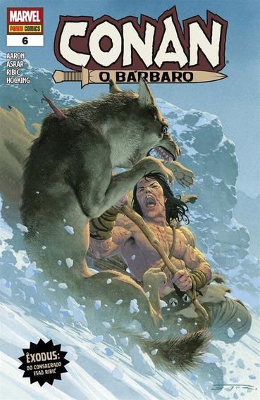 Conan, O Bárbaro Nº 6 ( Panini - 2020 )