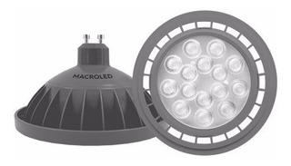 Lampara De Led Ar111 Macroled 11w Blanco Frio Gu10 220v