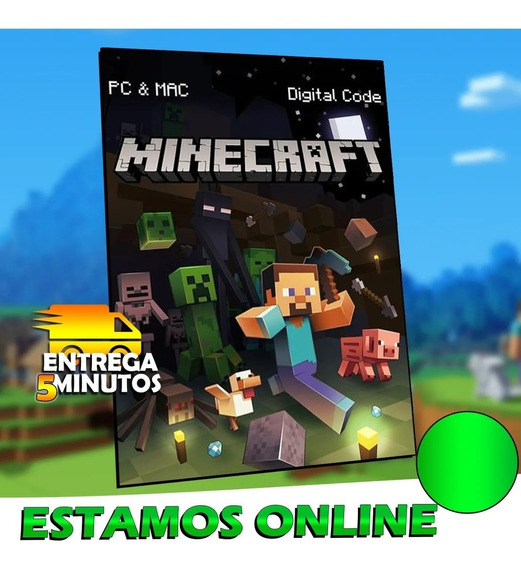 Minecraft Mojang Java Edition - 100% Original