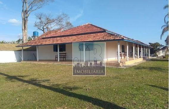 Lindo Sítio No Interior Com Piscina, Lago E Campo À Venda, 70.000 M² Por R$ 1.700.000 - São Roque/sp - Ra0001