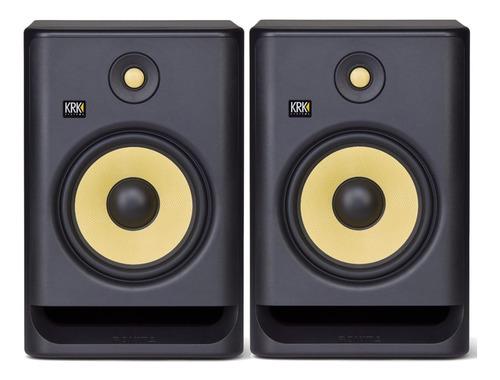 Krk Rokit 8 G4 Monitores De Estudio (par) Entrega Inmediata