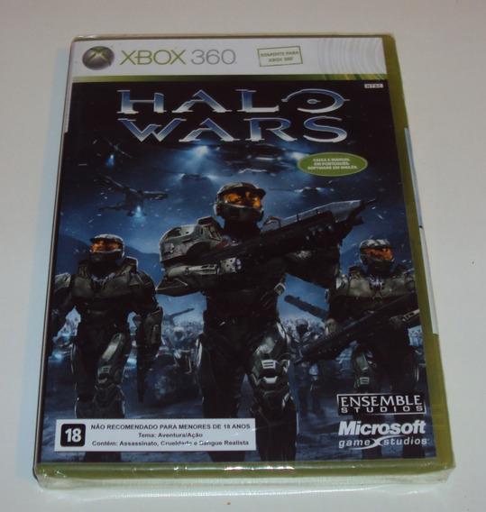 Halo Wars Original Lacrado Para Xbox 360