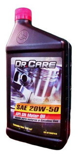 Aceite 20w50 Mineral Dr Care Api Sn