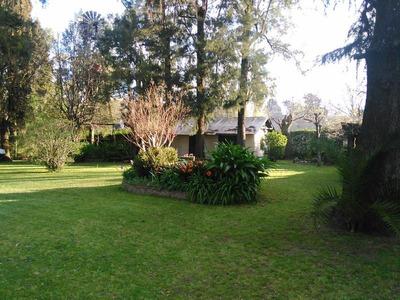 Casa Quinta Arbolada Con Lote 900m2 A 5 Cuadras Estación Del Viso