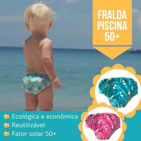 Fralda Ecológica E Reutilizável Para Piscina Fpu 50+