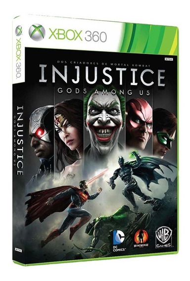 Injustice Gods Among Us - Xbox 360 - Usado - Original