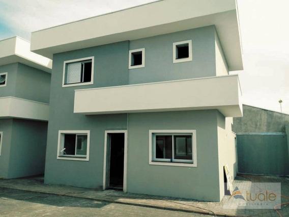 Casa No Condomínio Residencial Villa Garden, 70 M² - Parque Gabriel - Hortolândia/sp - Ca6351