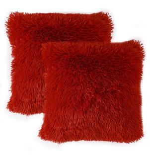 Cojines Decorativos Peluche Peludos Colores Sala Y Alcoba
