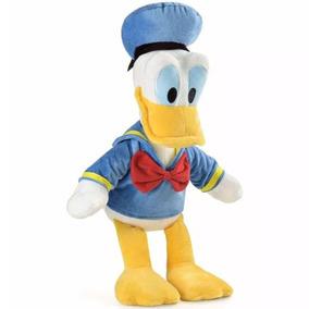 Pato Donald Disney Pelúcia Alta Qualidade 33cm Com Som