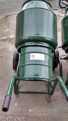180 l de cemento port/átil hormigonera mezclador con la funci/ón de la inclinaci/ón manual 1164X 690X 1311,Grey