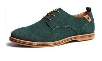 Sapato Masculino De Camurça