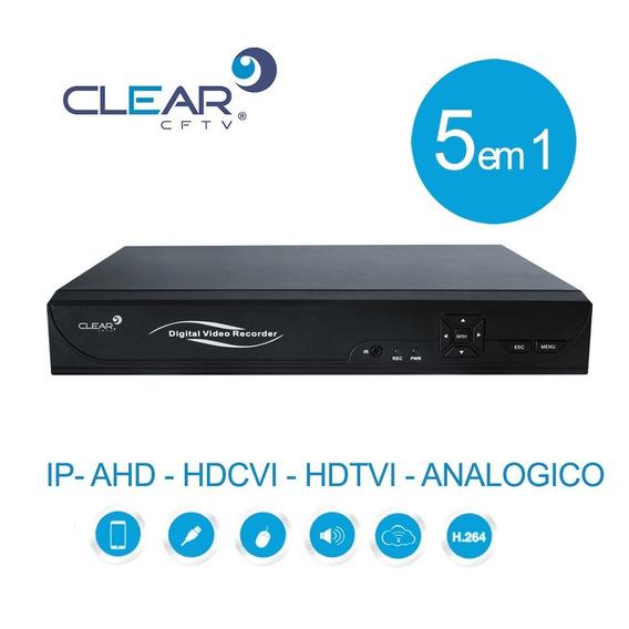 Dvr 16 Canais Clear Ahd / Tvi / Hdcvi 2 Mega 1080n Multi Hd